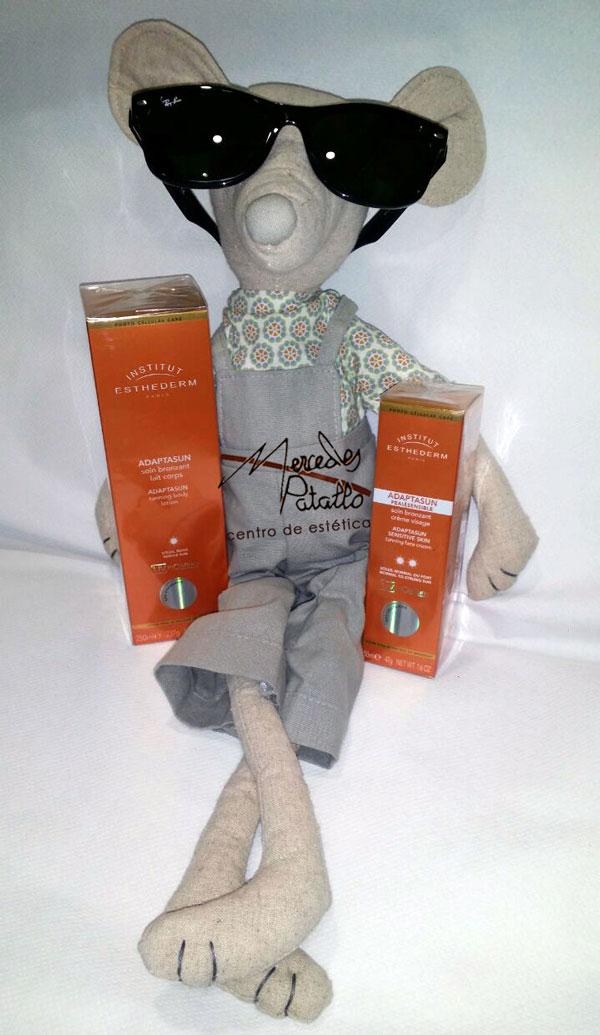 Preparadores para el bronceado de Esthederm en nuestra tienda online www.mercedespatallo.com