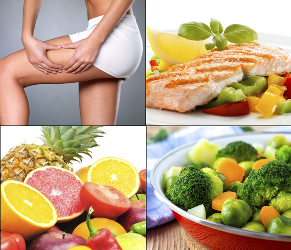 Alimentación recomendada para reducir y evitar la celulitis