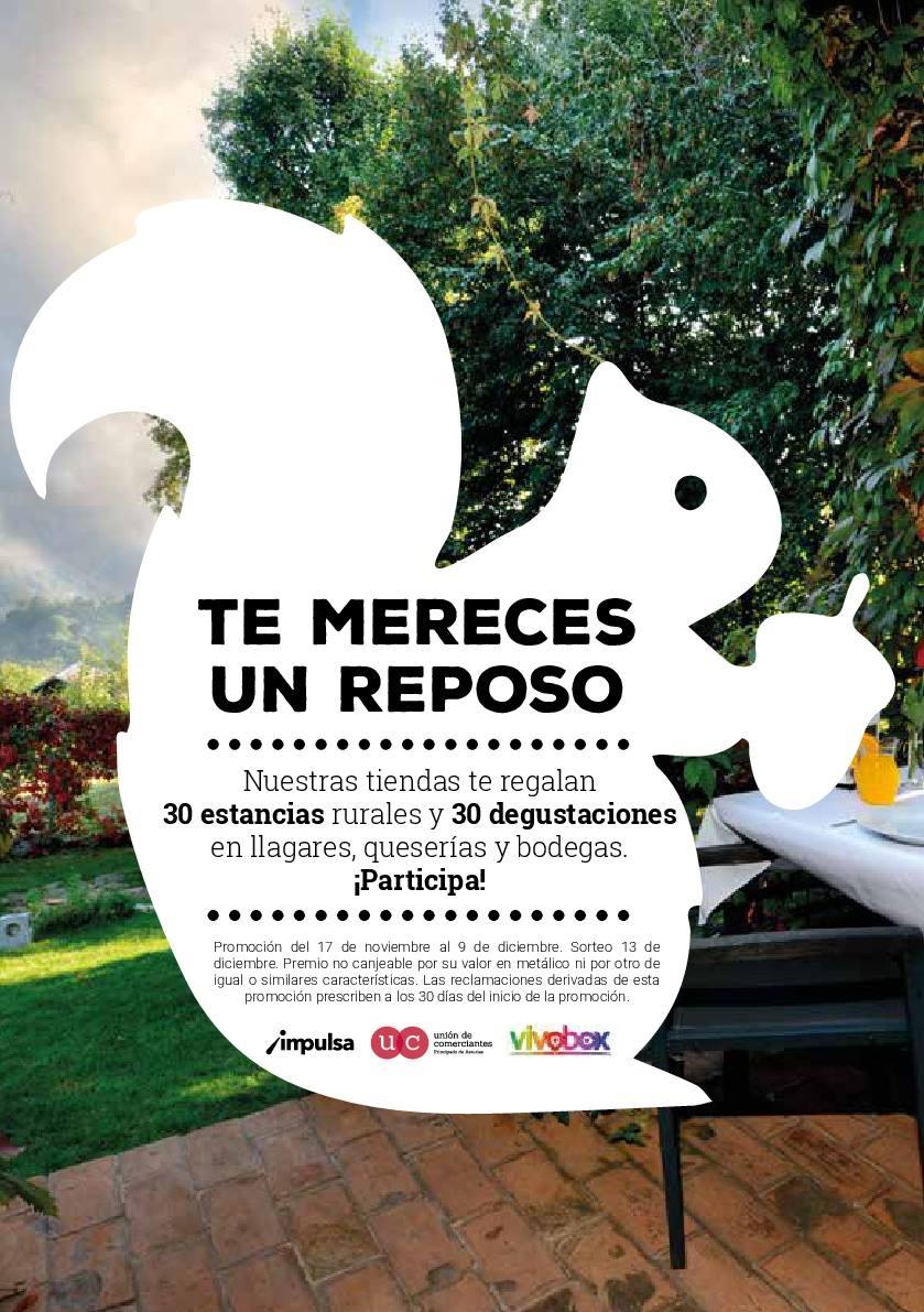 Por cortesía de la Unión del Comerciantes del Principado de Asturias y Vivobox Experiencias