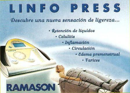 Tratamiento de presoterapia en Mercedes Patallo - Gijón