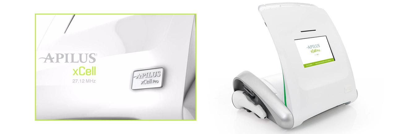 aparato de depilación eléctrica apilus