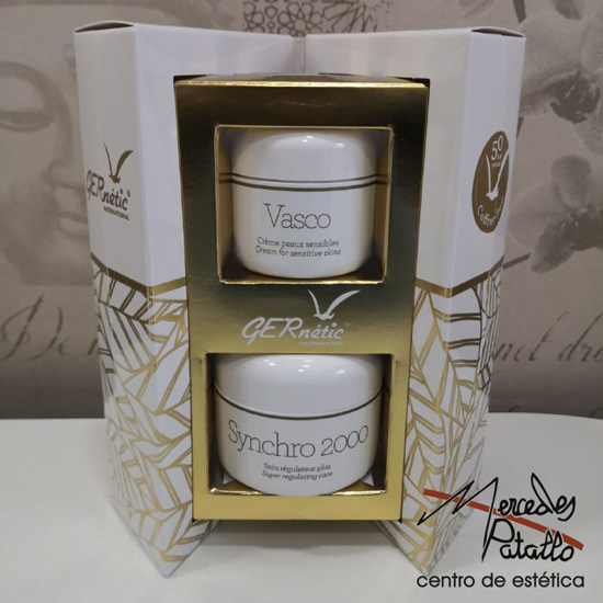 Mercedes Patallo Pack Gernetic Facial Synchro 2000 (50 ml) + Vasco (30 ml)